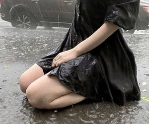 rain, aesthetic, and girl image