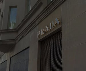 brand, fashion, and Prada image