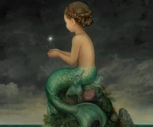 painting, fairy tale, and fantasy image