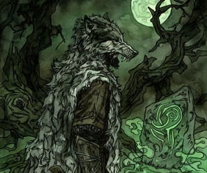 fantasy, folklore, and forest image