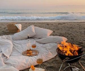 picnic, ocean, and sea image