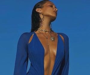 blue, luxury, and bella hadid image