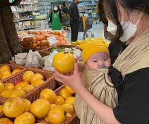 babies, yellow, and baby image