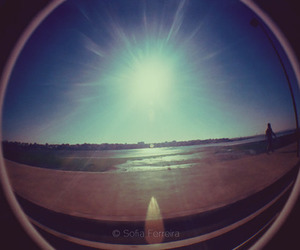 fisheye, retro, and walk image