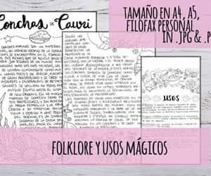 espanol, grimorio, and conchas image