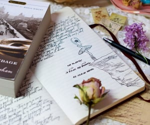 aesthetic, book, and notebook image