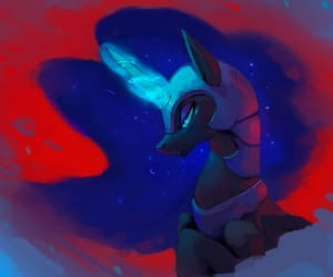 MLP, my little pony, and nightmare moon image