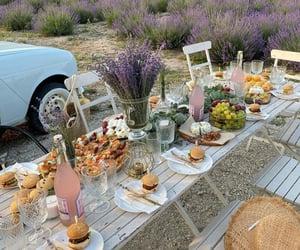picnic, nature, and cottagecore image