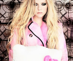 Avril Lavigne, pink, and hair image