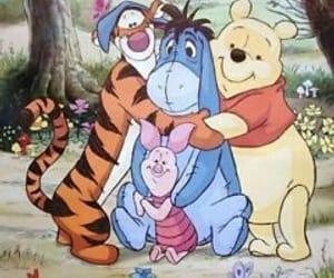 diy, winnie the pooh, and cross stitch pattern image