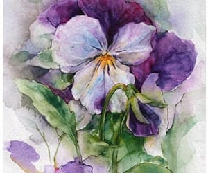 art, flowers, and lilac image