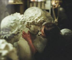kiss, statue, and girl image
