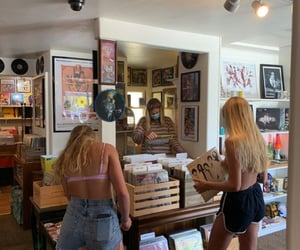 disco, girls, and music image