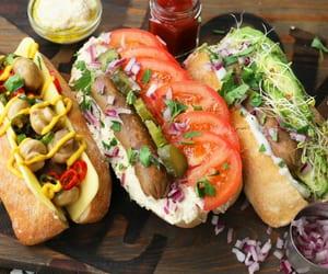 food, hotdog, and recipe image