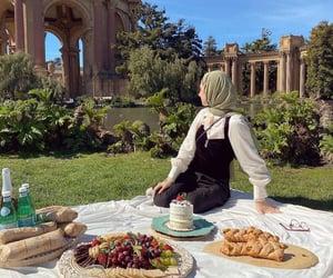 food, nature, and picnic image