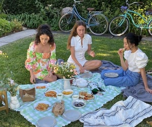 picnic, summer, and theme image