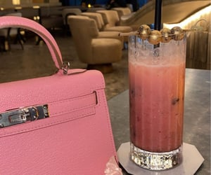 bag, Birkin, and cocktail image