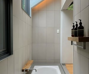aesthetic, architecture, and bathroom image