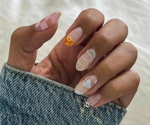 aesthetic, nail art, and nails image