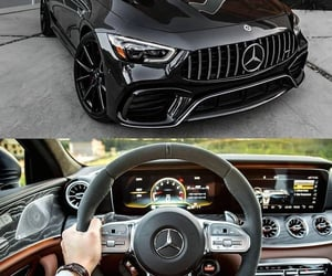 argent, black, and cars image