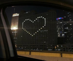 cute, city, and heart image