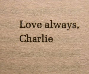 charlie, book, and the perks of being a wallflower image