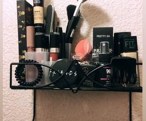 black, decor, and makeup image