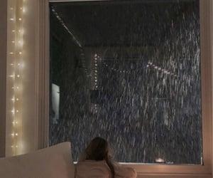 girl, rain, and aesthetic image