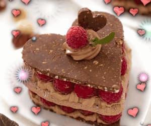 cake, chocolate cake, and drooling image