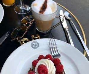 food, dessert, and raspberry image