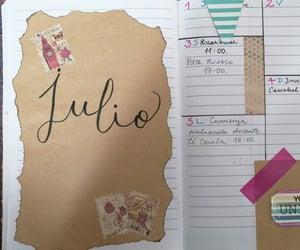bulletjournal, agenda, and diy image