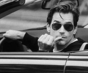 matt bomer, sexy, and black and white image
