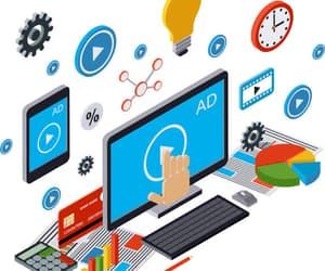 marketing, ppc advertising, and web promotion image