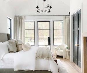 bedroom, bedrooms, and beige image