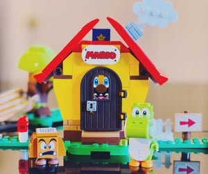 goomba, lego, and legos image