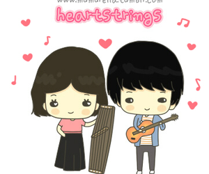 heartstrings and cute image