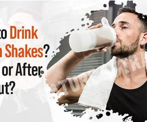 protein shake, protein diet, and nature sutra image