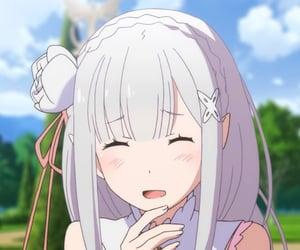 re:zero, anime, and kawaii image