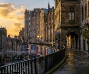 city, edinburgh, and places image