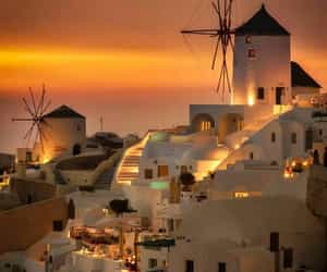 santorini, architecture, and Greece image