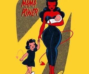 Devil, feminine, and feminism image
