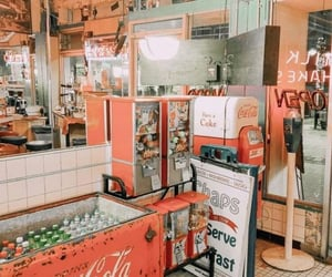 aesthetic, vintage, and cocacola image