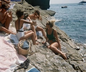 summer, beach, and vintage image