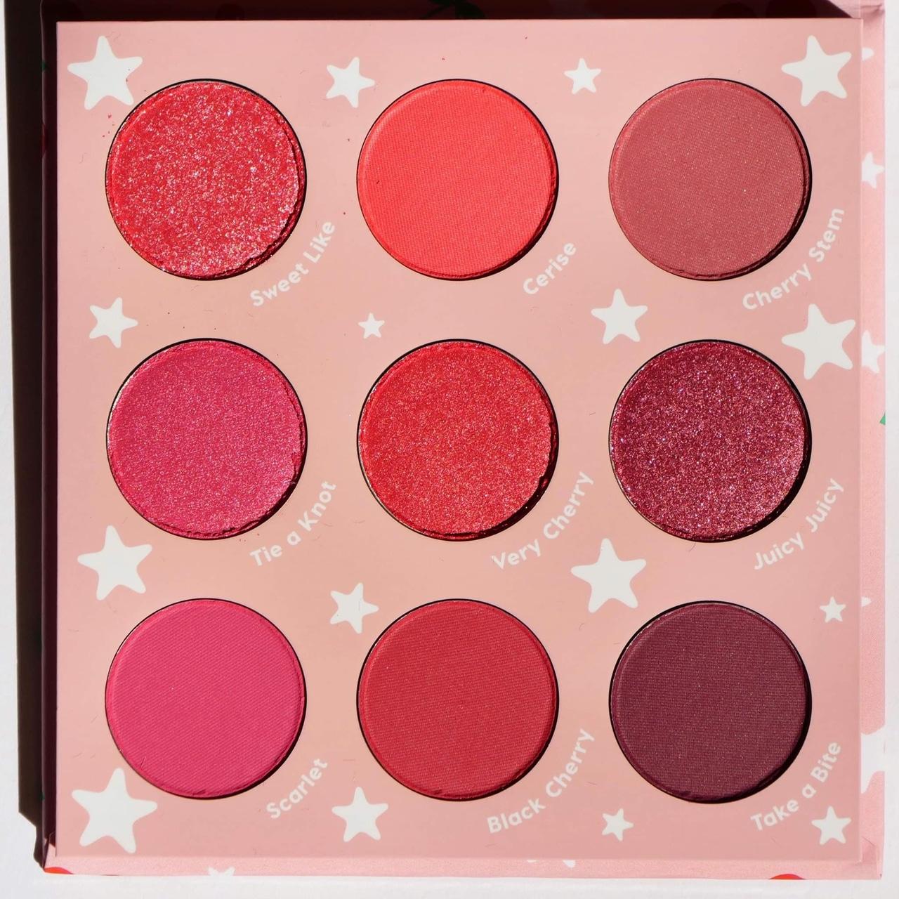 beauty, cherry, and eyeshadow image