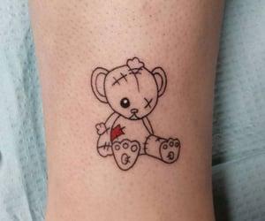 tattoo, bear, and inked image