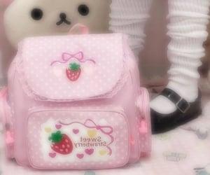 aesthetic, backpack, and kawaii image