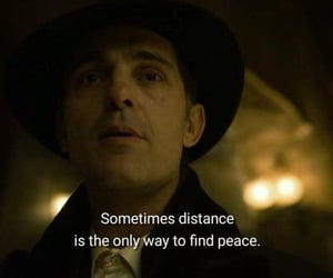 quotes, distance, and peace image