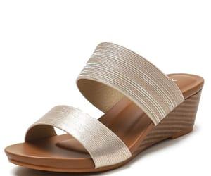 street wear, open peep toe, and glitter image