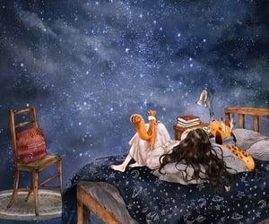 art and stargazing image