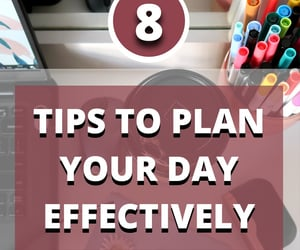 blog, to do list, and how to plan image